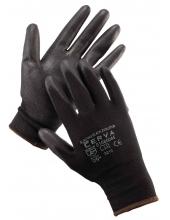 Kesztyű 6-11 -  Vékony - Cerva Bunting Black Evo