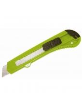 Kés törhető pengével 18mm -Sárga