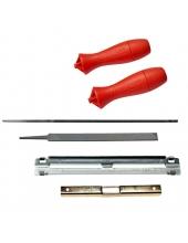 Láncfűrész - Reszelősablon 4,8 mm+laposreszelő
