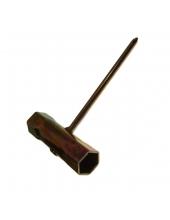 Hatszög Kulcs, Gyertyakulcs 17x19 x PH2 - Fűkaszákhoz