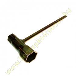 Hatszög Kulcs, Gyertyakulcs 13x19 - Láncfűrészhez